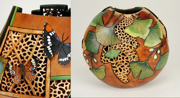 Gourd Art Classes with Bonnie Gibson